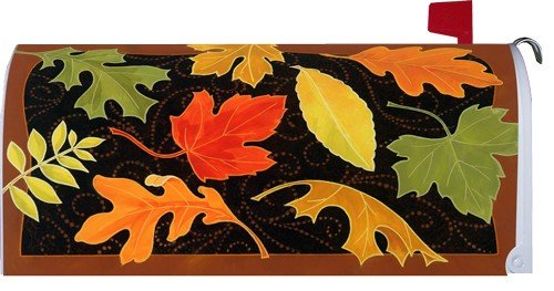 Beautiful Fall Leaves 1698Mm Magnetic Mailbox Cover Wrap