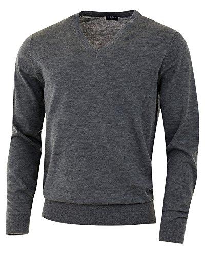 Gris de de merino de Agon lana merino Jersey lana jaspeado ax7w1qUTx