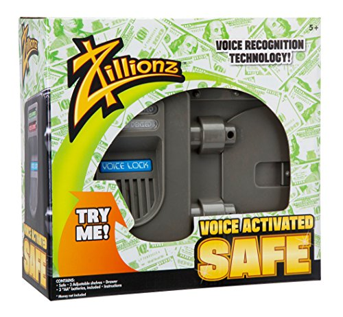 Zillionz Voice Activated Safe -
