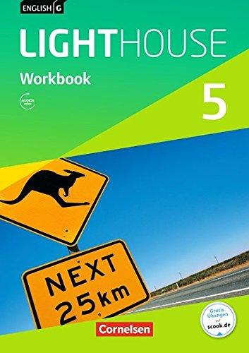 English G Lighthouse - Allgemeine Ausgabe / Band 5: 9. Schuljahr - Workbook mit Audio-Materialien