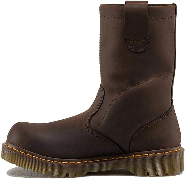 Dr. Martens Men's Pier Boot,Dark Brown,11 UK (US Men'
