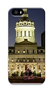 Case For Iphone 6 Plus 5.5 Inch Cover Brilliantly Illuminated The Baltimore City Hall 3D Custom Case For Iphone 6 Plus 5.5 Inch Cover