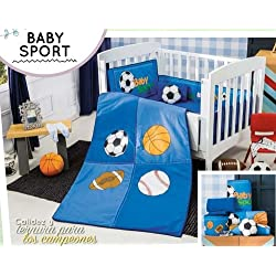 Baby Sport 6 Piece Crib Bedding Set