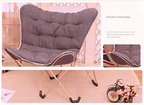 Sun Lounger barnstolar fåtölj schäslong hopfällbar stol solstol måne stol paus lunchstol bärbar 9 färger xiuyun (färg: F, storlek: 2)