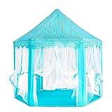 LINJING Large Kids Tent Indoor Outdoor Princess Tent