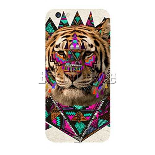 COQUE PROTECTION TELEPHONE IPHONE 6 - TIGRE AZTEQUE