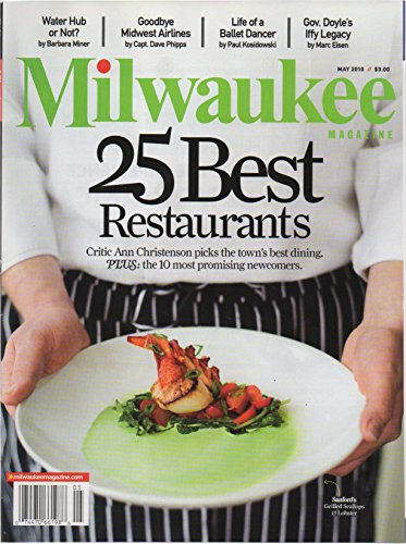 Milwaukee Magazine, vol. 35, no. 5 (May 2010) (Goodbye Midwest Airlines; 25 Best ()