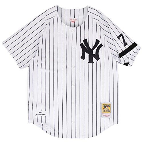 (Mariano Rivera New York Yankees Mitchell & Ness Authentic MLB 1995 Home Jersey)