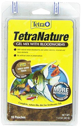Tetra 77261 Bloodworm Gel Mix, 16-Count, 1.4-Ounce