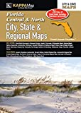 Central & North Florida City, State & Regional Maps
