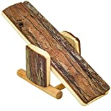 NiteangeL Natural Wood Hamster Seesaw