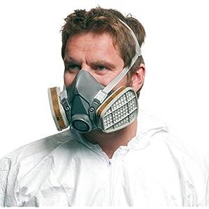 maschera 3m 6200
