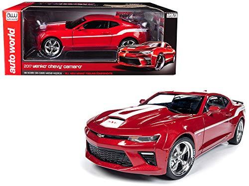 Yenko Camaro (DIECAST Toys CAR AUTO WORLD 1:18 Muscle Cars U.S.A. - 2017 YENKO Chevrolet Camaro RED AW246)