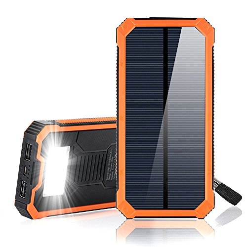 Solar Portable Power Bank - 8
