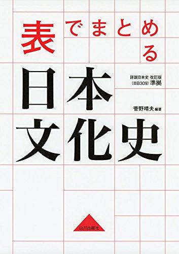 表でまとめる日本文化史:日B309準拠
