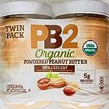 PB2 Organic Powdered Peanut Butter, 2 Pack, 32 OZ