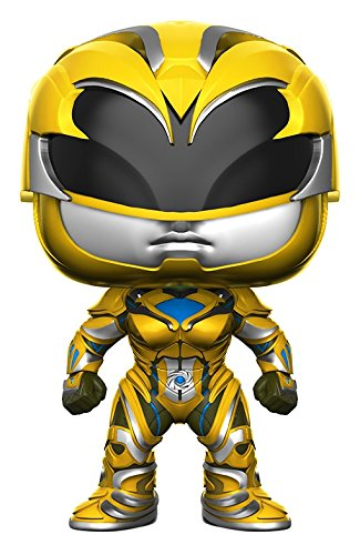 Funko POP Movies: Power Rangers Yellow Ranger Toy (Power Ranger Costumes For Sale)
