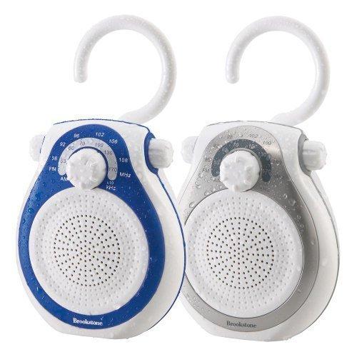 Brookstone Shower Tunes Water Proof Resistant Radio