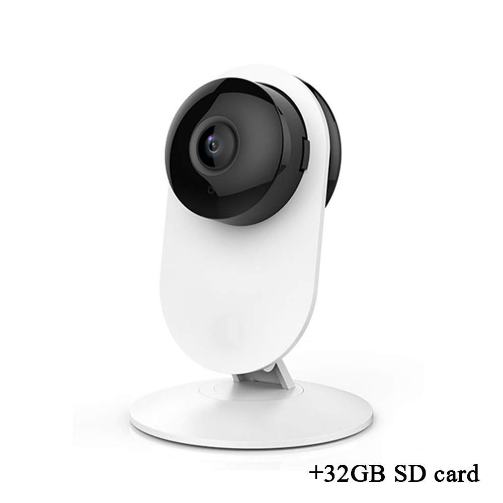 ZDMSEJ Wireless Network Camera, 1080P FHD WiFi Network Camera, Night Vision Surveillance Camera, Motion Detection, Two-Way Audio, Indoor Camera, Baby/pet/Home Monitor by ZDMSEJ