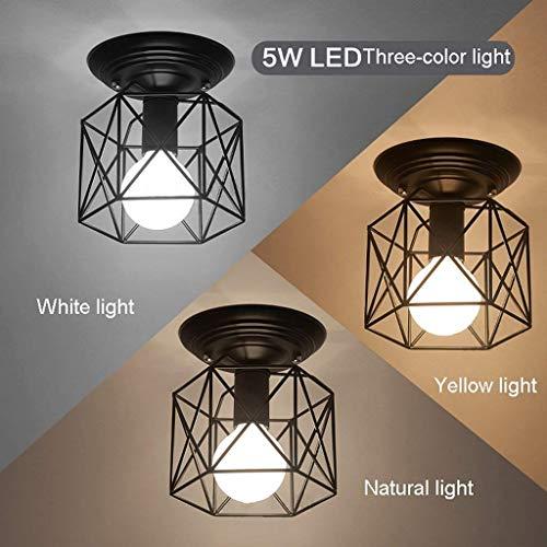- CTO The Lighting Irons,Single Head Ceiling Lamp Chandelier,Restaurant Balcony Study Corridor Hallway Interior Lighting Lights,B-Iron Wire Rack