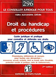 """Afficher """"Droit du handicap et procédures"""""""