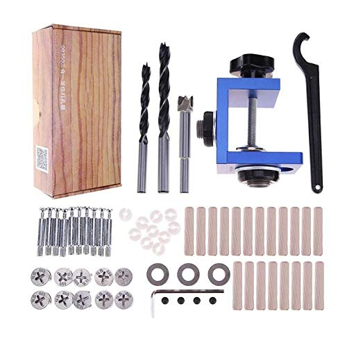 Drill Bits - Portable Pocket Hole Jig Kit System Drill Bit Set Guide Clamp - Rapid Irwin Titanium Makita Twist Than Clean Canister Individual Change That Screwdriver Micro Taps Cuticle Driver