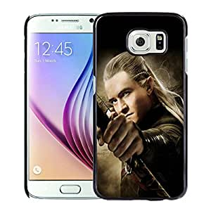 Beautiful And Fashionable Designed Case With The Hobbit The Desolation of Smaug Legolas Black For Samsung Galaxy S6 Phone Case
