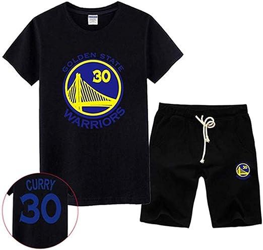 LINrxl NBA Chándal Golden State Warriors Baloncesto Jersey Stephen ...