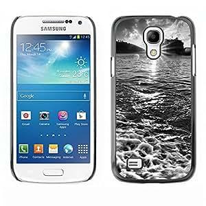Estuche Cubierta Shell Smartphone estuche protector duro para el teléfono móvil Caso Samsung Galaxy S4 Mini i9190 MINI VERSION! / CECELL Phone case / / Waterfall Topaz Green /