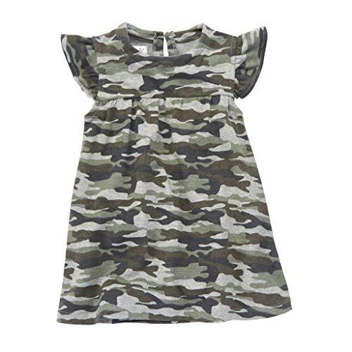 Mud Pie Short Sleeve Camo Dress -