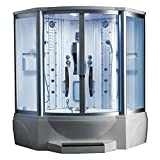 ARIEL WS-608A Steam Shower with Whirlpool Bathtub