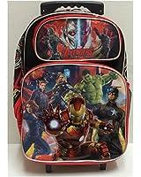 """Marvel Avengers Assemble Rolling 16"""" Backpack"""