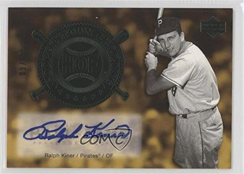 (Ralph Kiner #/15 (Baseball Card) 2005 Upper Deck Hall of Fame - Cooperstown Calling - Green Autographs [Autographed] #CO-RK1)