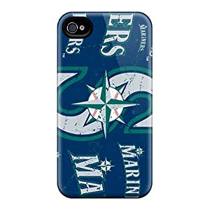 Ideal Abrahamcc Case Cover For Iphone 4/4s(seattle Mariners), Protective Stylish Case
