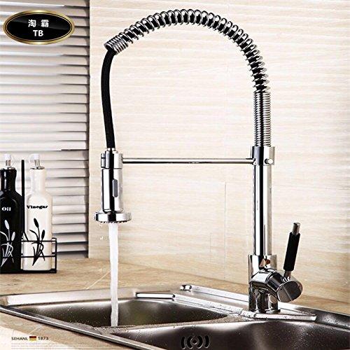 Lalaky Badezimmer Wasserhahn Küche Wasserhahn Spültischarmatur Spülbecken Waschtischarmatur Mischbatterie Alle Kupfernen Heißen Und Kalten Wasserpumpentypen können Gedreht Werden Für Badezimmer Und Küchen