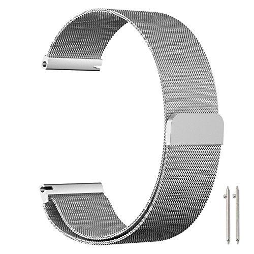 Hollyfun Galaxy Watch  / Gear S3 Frontier Classic 22mm Milan