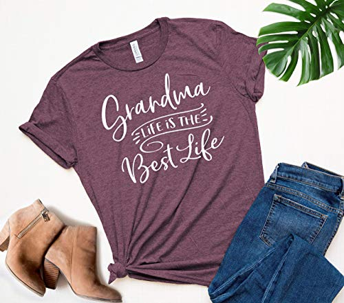 Grandma Life is the best life, Grandma Shirt, Grandma Pregnancy Announcement, Grandma Christmas Gift, New Grandma Shirt, Grandma to be Shirt