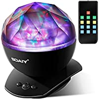 SOAIY LED Aurora Projector Night Lamps with Remote