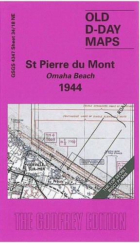 D-Day 34/18 NE St Pierre du Mont. Omaha Beach 1944 1 : 25 000: Militärhistorische Landkarte (Englisch) Landkarte – Folded Map, 19. Mai 2004 Alan Godfrey Alan Godfrey Maps 1841516538 Geschichte / 20. Jahrhundert