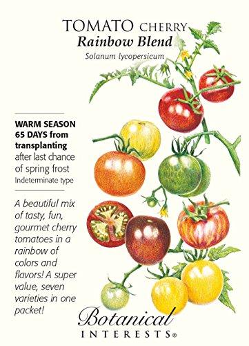 (Rainbow Blend Cherry Tomato Seeds - 250 mg)