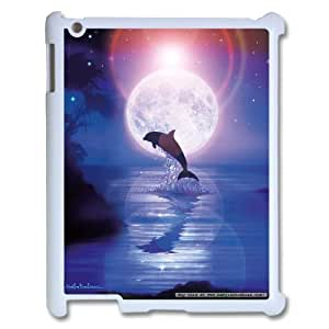 Cheap Dolphins at oceans Case Cover Best For Ipad 2/3/4 Case FBGH-T493640