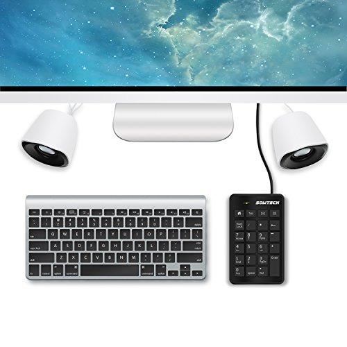 sowtech numeric keypad accountant partner usb 23 keys input devices external portable mini. Black Bedroom Furniture Sets. Home Design Ideas