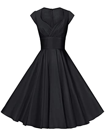 Amazon.com: GownTown Womens Dresses Party Dresses 1950s Vintage ...