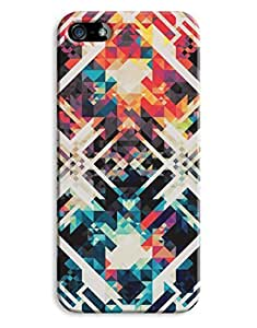 Black Triangles Indie Pattern Case For Htc One M9 Cover Hard