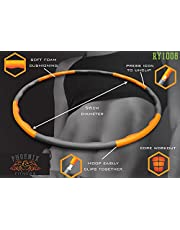 Phoenix Fitness 140g Weighted Padded Hula Hoop Fitness Abs Exercise Workout