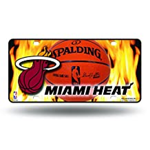 NBA Metal Tag License Plate
