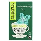 Clipper Teas – Mint Green Tea 26 Unbleached Bags – 50g