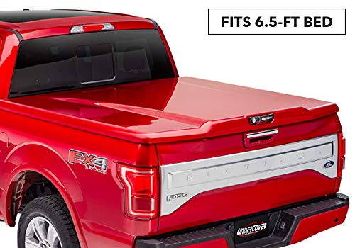 UnderCover Elite LX Painted One-Piece Truck Bed Tonneau Cover, Magma Red | UC2168L-E2 | fits 2018-2019 Ford F-150 6.5ft Short Bed Std/Ext/Crew E2 - Magma Red