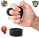 Streetwise Bundle Sting Ring 18 Million Stun Gun (Black) & FREE Bonus Inspirational Bracelet