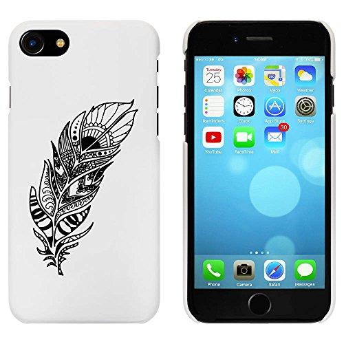 Blanc 'Plume Intrée' étui / housse pour iPhone 7 (MC00058458)
